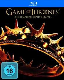 Game of Thrones Season 2 (Blu-ray), 5 Blu-ray Discs