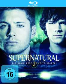Supernatural Staffel 2 (Blu-ray), 4 Blu-ray Discs