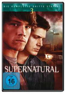 Supernatural Staffel 3, 6 DVDs