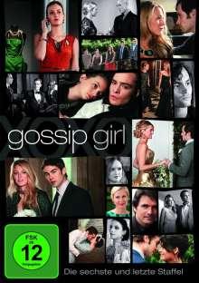 Gossip Girl Season 6 (finale Staffel), 3 DVDs