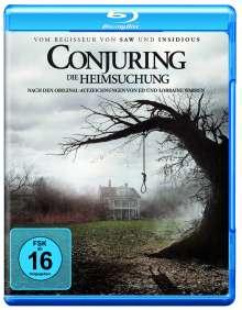 Conjuring - Die Heimsuchung (Blu-ray), Blu-ray Disc