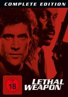 Lethal Weapon I-IV, 8 DVDs