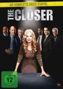 The Closer Season 1, 4 DVDs