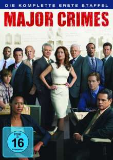 Major Crimes Season 1, 3 DVDs