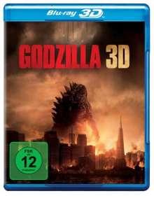 Godzilla (2014) (3D & 2D Blu-ray), 2 Blu-ray Discs