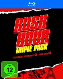 Rush Hour Trilogy (Blu-ray), 3 Blu-ray Discs