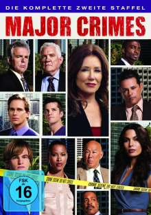 Major Crimes Season 2, 4 DVDs