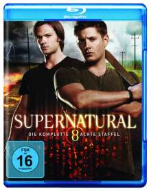 Supernatural Staffel 8 (Blu-ray), 6 Blu-ray Discs