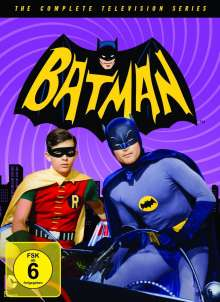 Batman (Komplette Serie), 18 DVDs