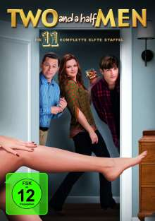 Two And A Half Men Season 11, 3 DVDs