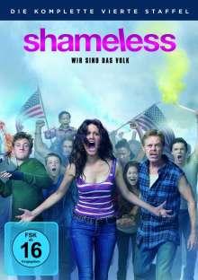Shameless Staffel 4, 4 DVDs