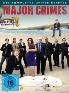 Major Crimes Season 3, 4 DVDs