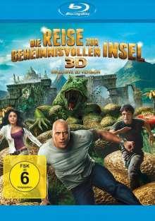 Die Reise zur geheimnisvollen Insel (3D Blu-ray), Blu-ray Disc