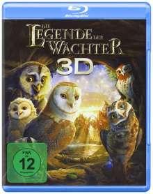 Die Legende der Wächter (3D Blu-ray), Blu-ray Disc