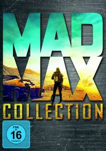 Mad Max Collection (Mad Max 1-3 & Fury Road), 4 DVDs