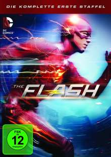 The Flash Staffel 1, 5 DVDs