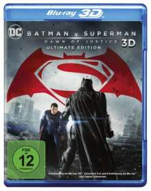 Batman v Superman: Dawn of Justice (3D & 2D Blu-ray), 3 Blu-ray Discs
