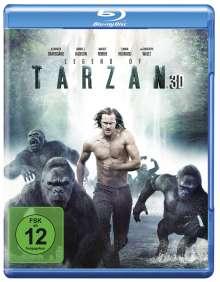 Legend of Tarzan (3D & 2D Blu-ray), 2 Blu-ray Discs