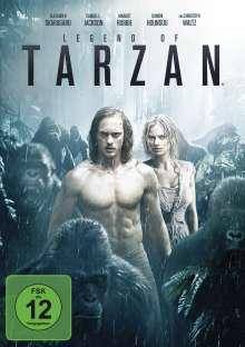 Legend of Tarzan, DVD