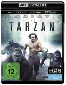 Legend of Tarzan (Ultra HD Blu-ray & Blu-ray), 1 Ultra HD Blu-ray und 1 Blu-ray Disc