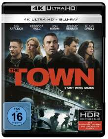 The Town - Stadt ohne Gnade (Ultra HD Blu-ray & Blu-ray), 1 Ultra HD Blu-ray und 1 Blu-ray Disc