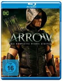 Arrow Staffel 4 (Blu-ray), 4 Blu-ray Discs