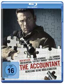 The Accountant (Blu-ray), Blu-ray Disc