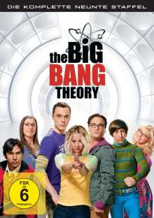 The Big Bang Theory Staffel 9, 3 DVDs