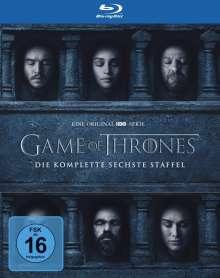 Game of Thrones Season 6 (Blu-ray), 4 Blu-ray Discs