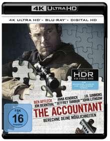 The Accountant (Ultra HD Blu-ray & Blu-ray), 1 Ultra HD Blu-ray und 1 Blu-ray Disc