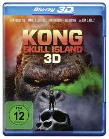Kong: Skull Island (3D Blu-ray), Blu-ray Disc