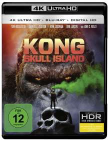 Kong: Skull Island (Ultra HD Blu-ray & Blu-ray), 1 Ultra HD Blu-ray und 1 Blu-ray Disc