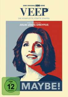 Veep Season 5, 2 DVDs
