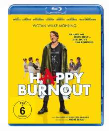 Happy Burnout (Blu-ray), Blu-ray Disc