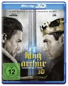 King Arthur: Legend of the Sword (3D Blu-ray), Blu-ray Disc