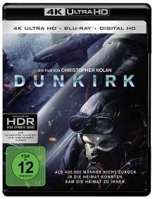 Dunkirk (2017) (Ultra HD Blu-ray & Blu-ray), 1 Ultra HD Blu-ray und 2 Blu-ray Discs