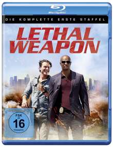 Lethal Weapon Season 1 (Blu-ray), 3 Blu-ray Discs
