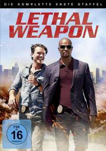 Lethal Weapon Season 1, 4 DVDs