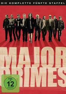 Major Crimes Season 5, 5 DVDs