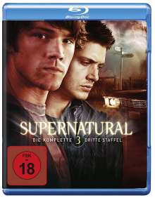 Supernatural Staffel 3 (Blu-ray), 3 Blu-ray Discs