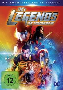 DC's Legends of Tomorrow Staffel 2, 4 DVDs