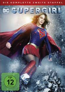 Supergirl Staffel 2, 5 DVDs