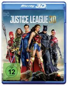 Justice League (3D Blu-ray), Blu-ray Disc