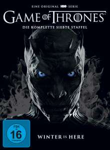 Game of Thrones Season 7, 5 DVDs