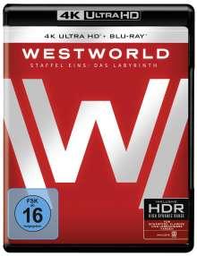 Westworld Staffel 1: Das Labyrinth (Ultra HD Blu-ray & Blu-ray), 3 Ultra HD Blu-rays und 3 Blu-ray Discs