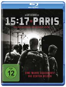 15:17 to Paris (Blu-ray), Blu-ray Disc