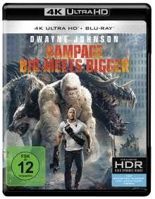 Rampage (2018) (Ultra HD Blu-ray & Blu-ray), 1 Ultra HD Blu-ray und 1 Blu-ray Disc