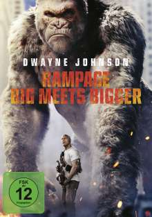 Rampage (2018), DVD
