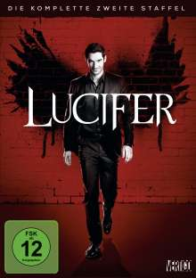 Lucifer Season 2, 3 DVDs