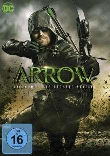 Arrow Staffel 6, 5 DVDs